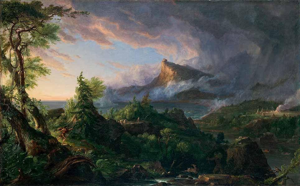 Thomas Cole: una naturaleza poderosa y vulnerable Artes & contextos savagestate thomascole 600px 1