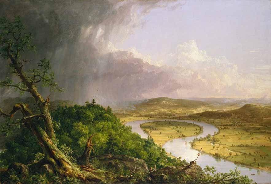 Thomas Cole: una naturaleza poderosa y vulnerable Artes & contextos