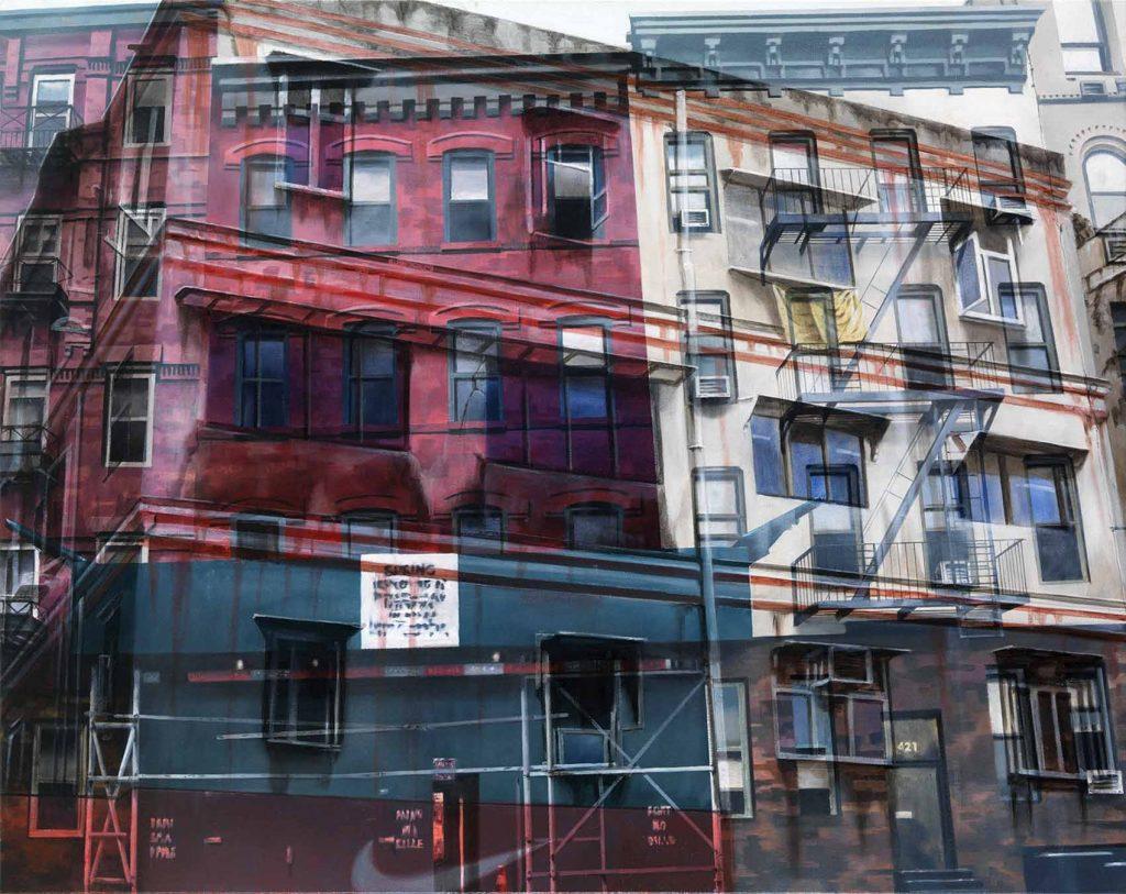 Jorge R. Pombo: reflexión sobre la práctica de la pintura Artes & contextos Mumbai New York