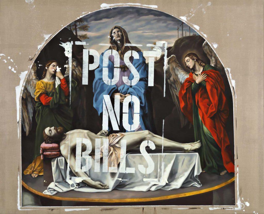 Jorge R. Pombo: reflexión sobre la práctica de la pintura Artes & contextos Variacion de La Pieta dei mendicanti de Guido Reni texto