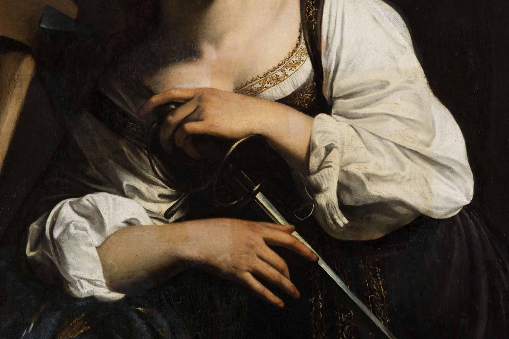 """Caravaggio: """"Santa Catalina de Alejandría"""" Artes & contextos Trat Limp Barniz 22 sin"""