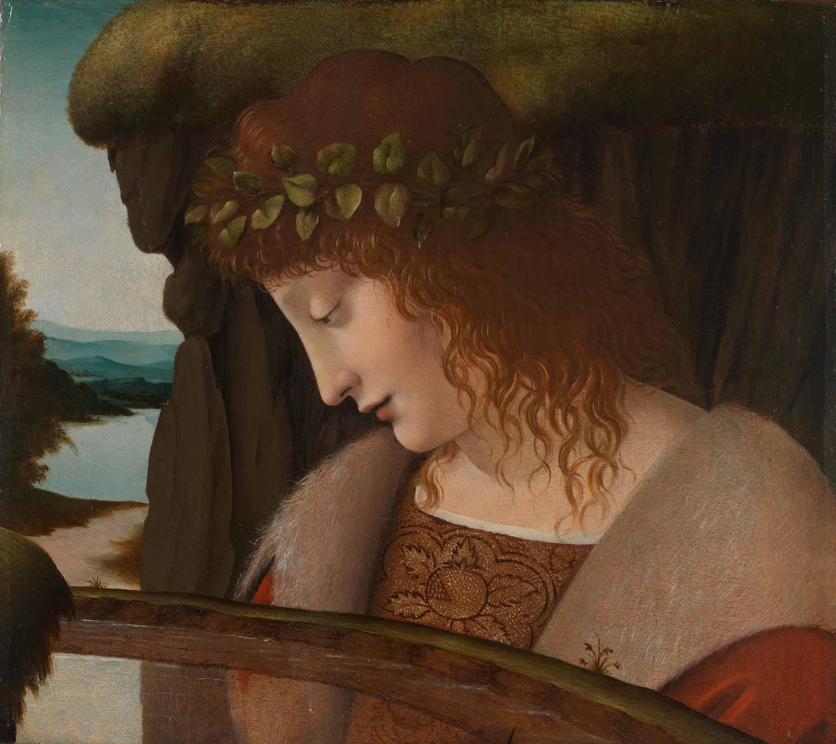 Narciso y sus distintas lecturas iconográficas Artes & contextos Narcissus da Vinci