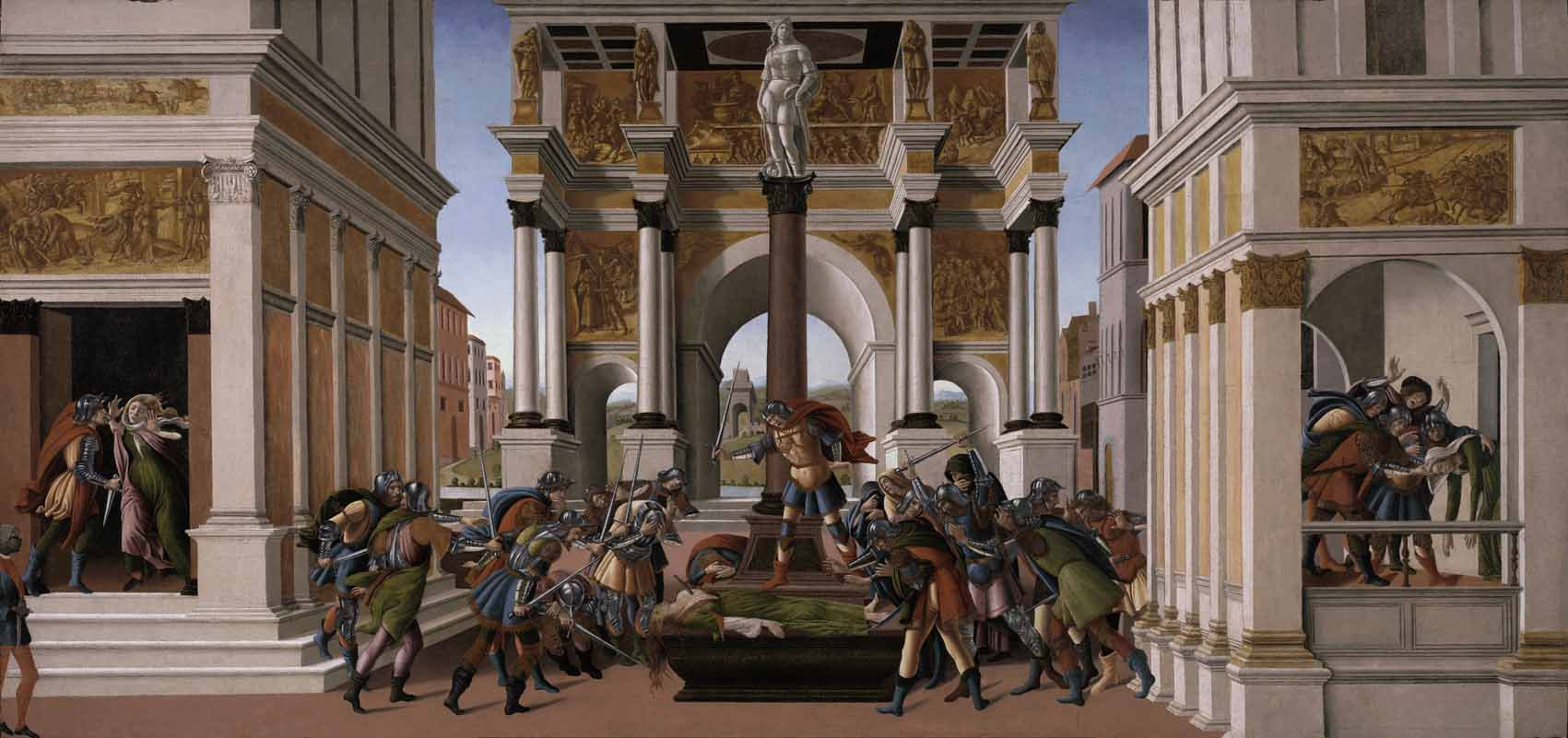 Las heroínas de Sandro Botticelli desde una perspectiva de género Artes & contextos Storia di Lucrezia h1505