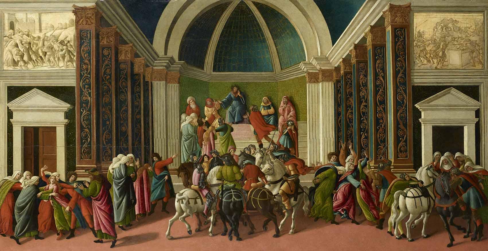 Las heroínas de Sandro Botticelli desde una perspectiva de género Artes & contextos Storia di Virginia h1505