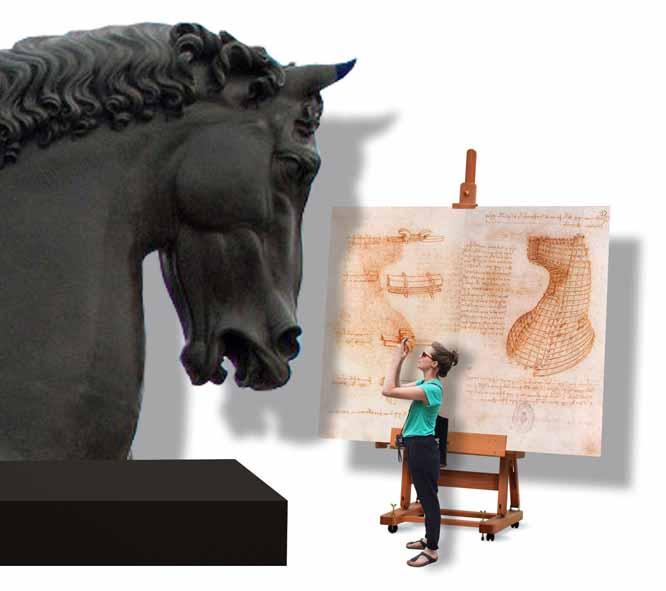 Leonardo da Vinci: el genio, el hombre Artes & contextos caballo
