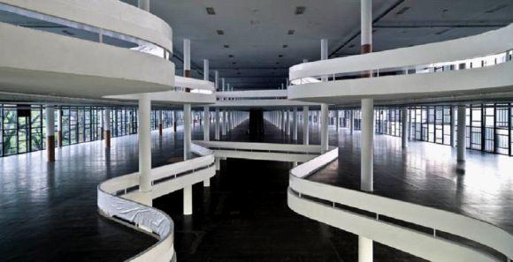 Niemeyer, Pabellón de la Industria. Parque de Ibirapuera, São Paulo. © José Manuel Ballester