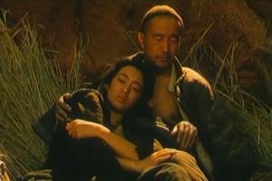 Fotograma de la película Semilla de crisantemo, 1990.