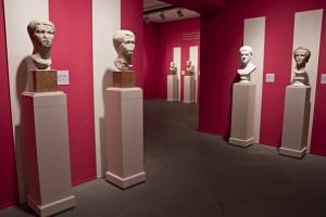 Serie de bustos, Ámbito I: Augusto. Su ideario político. La Gens Augusta.