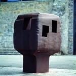 Elogio a la arquitectura - XVI, 1996. Colección familia Chillida-Belzunce/ Fotografía: Iñigo Santiago.