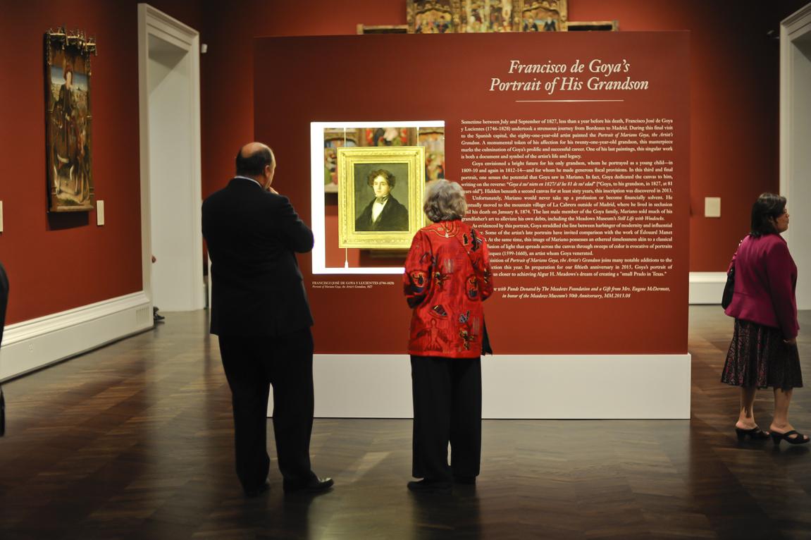 """La exposición """"Goya: A Lifetime of Graphic Invention"""" estará abierta hasta el 1 de marzo de 2015."""