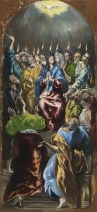 Pentecostés El Greco
