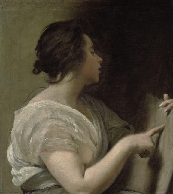 La Sibila, por Velázquez, Meadows Museum.