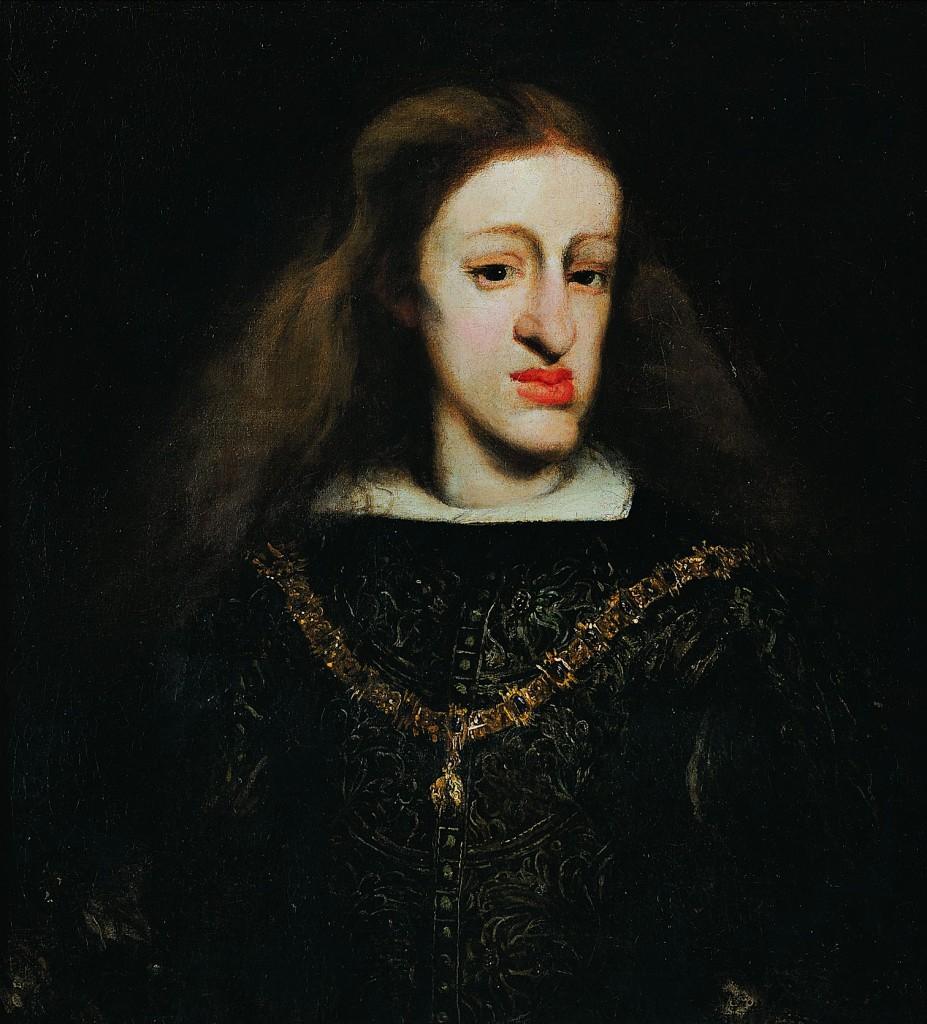 Carlos II, óleo sobre lienzo, 65 x 59 cm, h. 1680, Colección Banco Sabadell, Oviedo (Asturias).