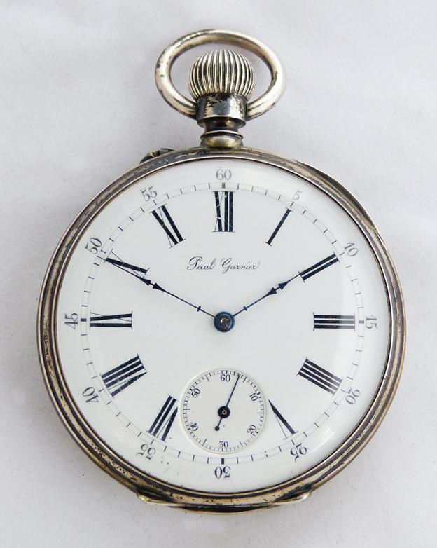 Reloj de bolsillo lepine francés de la marca Paul Garnier. Precio de  salida b7a08bdc340b