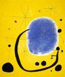 El oro del azur, por Joan Miró, 1967, acrílico sobre tela, 205 x 173 cm.