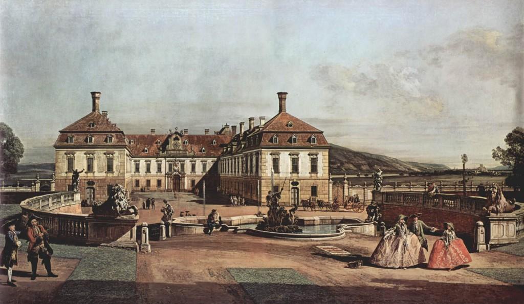 Residencia de verano del emperador, 1758, Viena, Kunsthistorisches Museum.