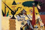 Tierra labrada, por Joan Miró, 1923-24, óleo sobre lienzo, 66 x 92,7 cm.