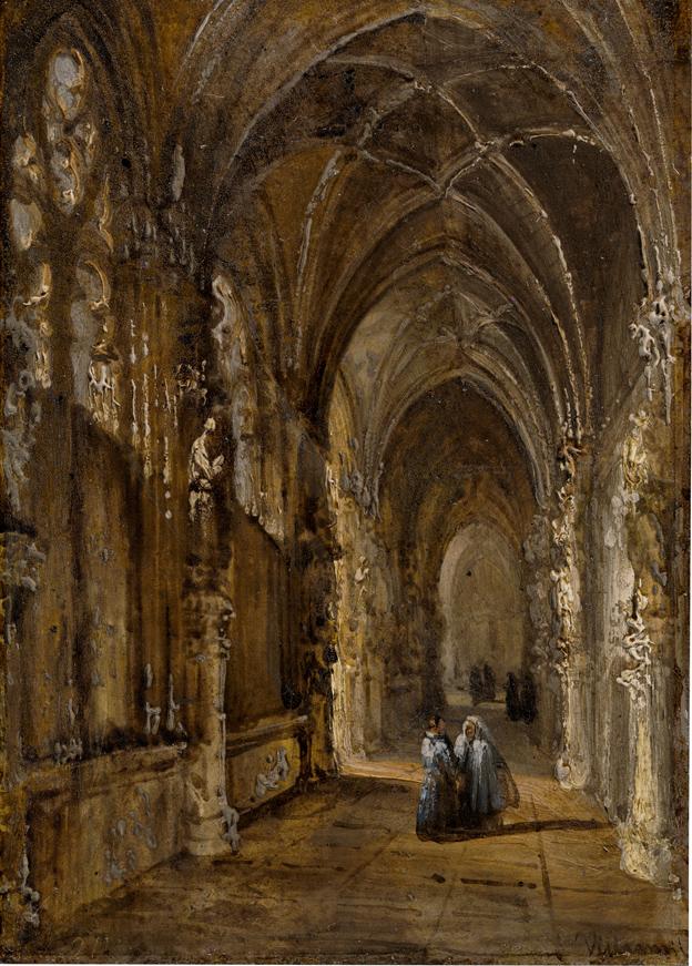 Vista del claustro de San Juan de los Reyes de Toledo.