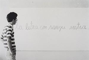 La letra con sangre entra, por Eduardo Hernández.