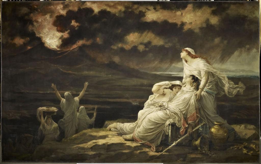"""""""Herculano, 23 de agosto del año 79"""", de Hector Leroux, 1881, óleo sobre lienzo, 189,8 x 301 cm, París, Musée d'Orsay © RMN-Grand Palais (musée d'Orsay) / René-Gabriel Ojéda."""