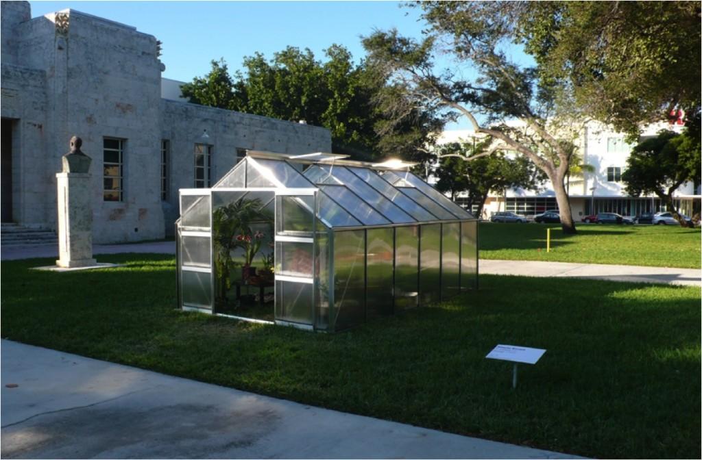 Alberto Baraya, Invernadero de plantas artificiales, 2007