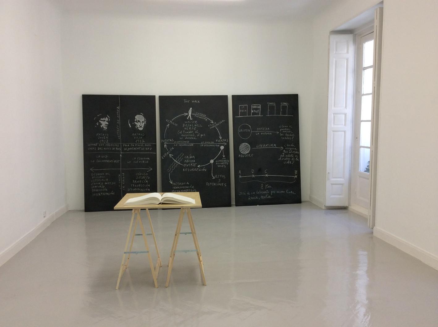 """""""Mapas del marginado"""", de Dora García, 2014."""