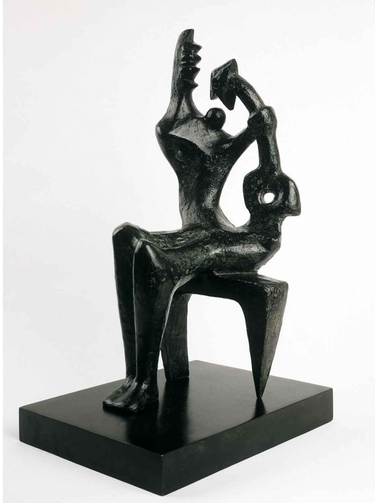 Madre e hijo, de Henry Moore, 1953.