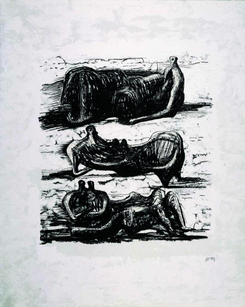 Sin título, de la carpeta La poesía, grabado de 1974.