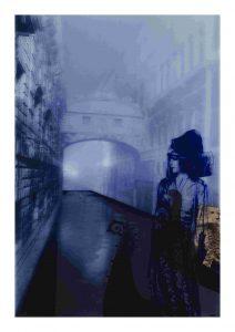 Night-Cloaked Casati, por T.J. Wilcox.