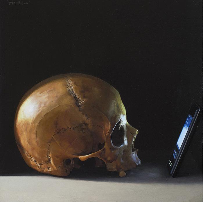 Preludi, de Josep Santilari,  óleo sobre tela, 2014.