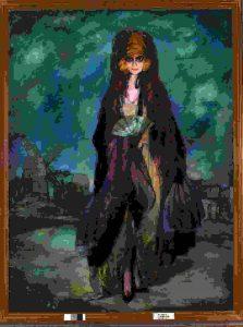 La marquesa Casati, por Ignacio Zuloaga, 1923.