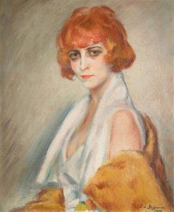 La marquesa Casati, por Jean de Gaigneron, 1922.