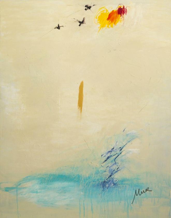 """""""One"""". Cristina Mur, Galería Rodrigo Juarranz"""