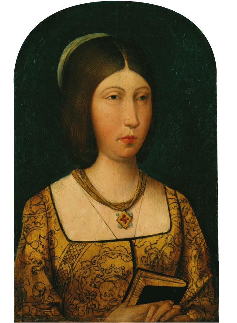 Isabel II de Castilla, pintor inglés anónimo, h. 1500-10, Royal Collection Trust / @ Her Majesty Queen Elizabeth II, 2015.
