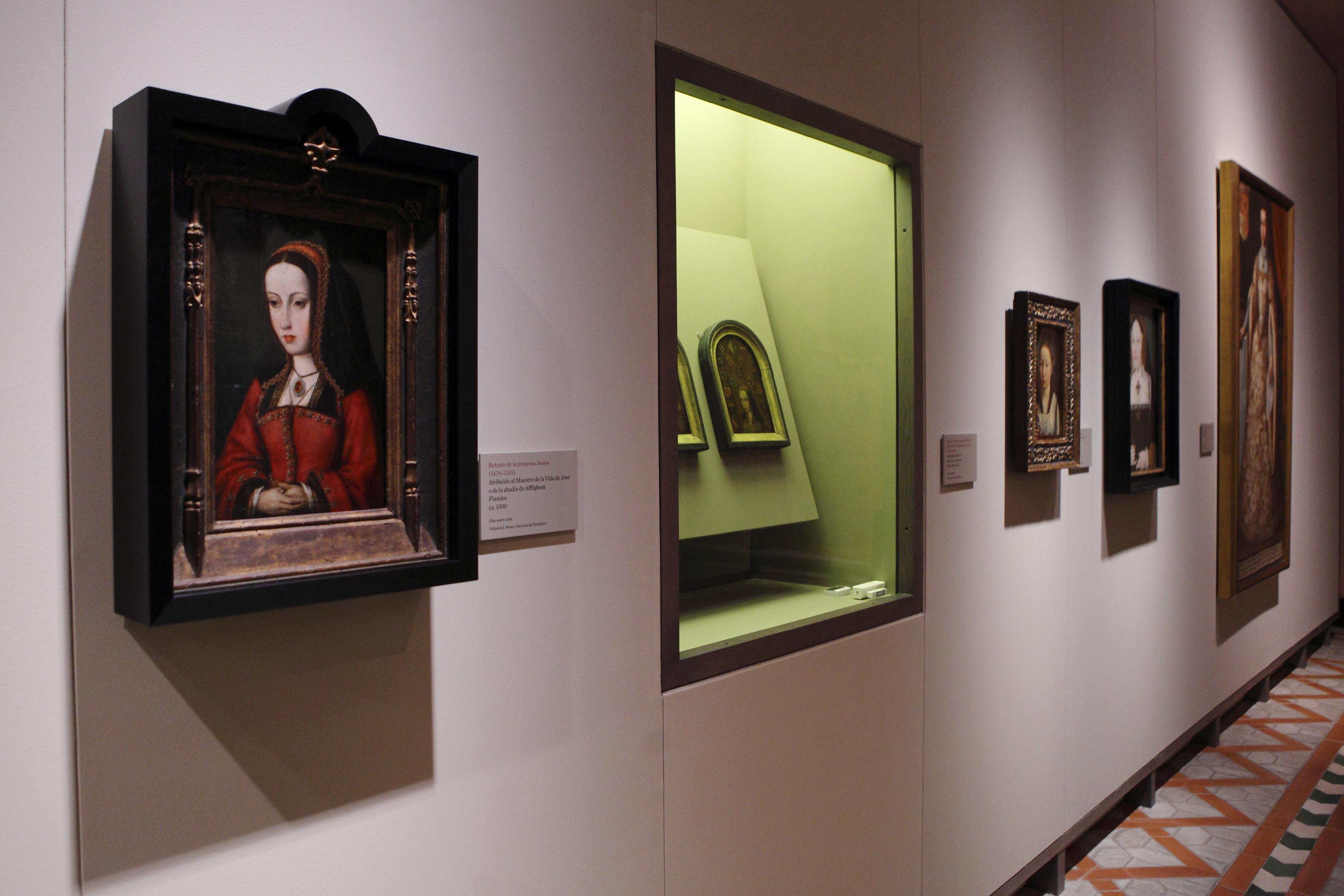 Sala del primer ámbito de la exposición. Foto: Carlos Moncino.
