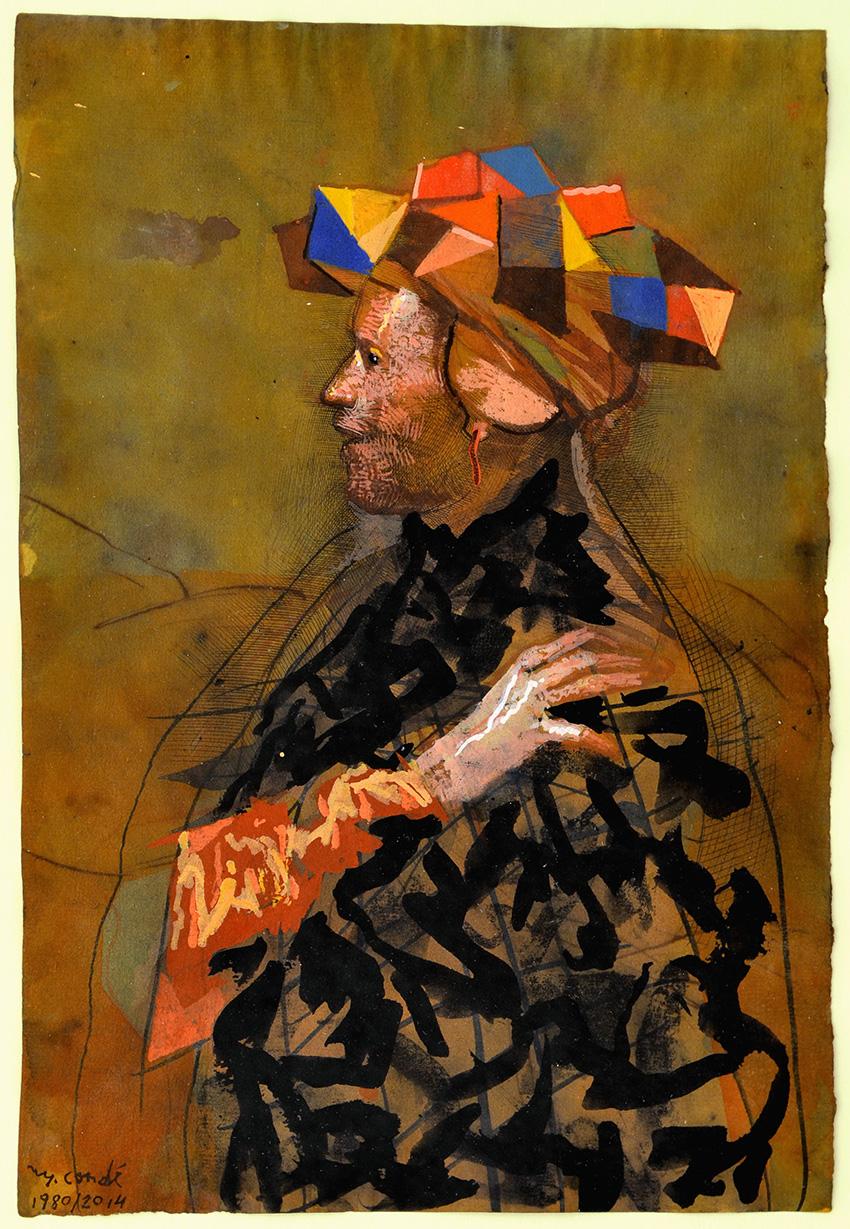 Sin título, de Miquel Conde, en la galería Eude.