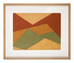 Sin título, por Alberto Menocal, óleo sobre cartón, 34 x 45 cm.