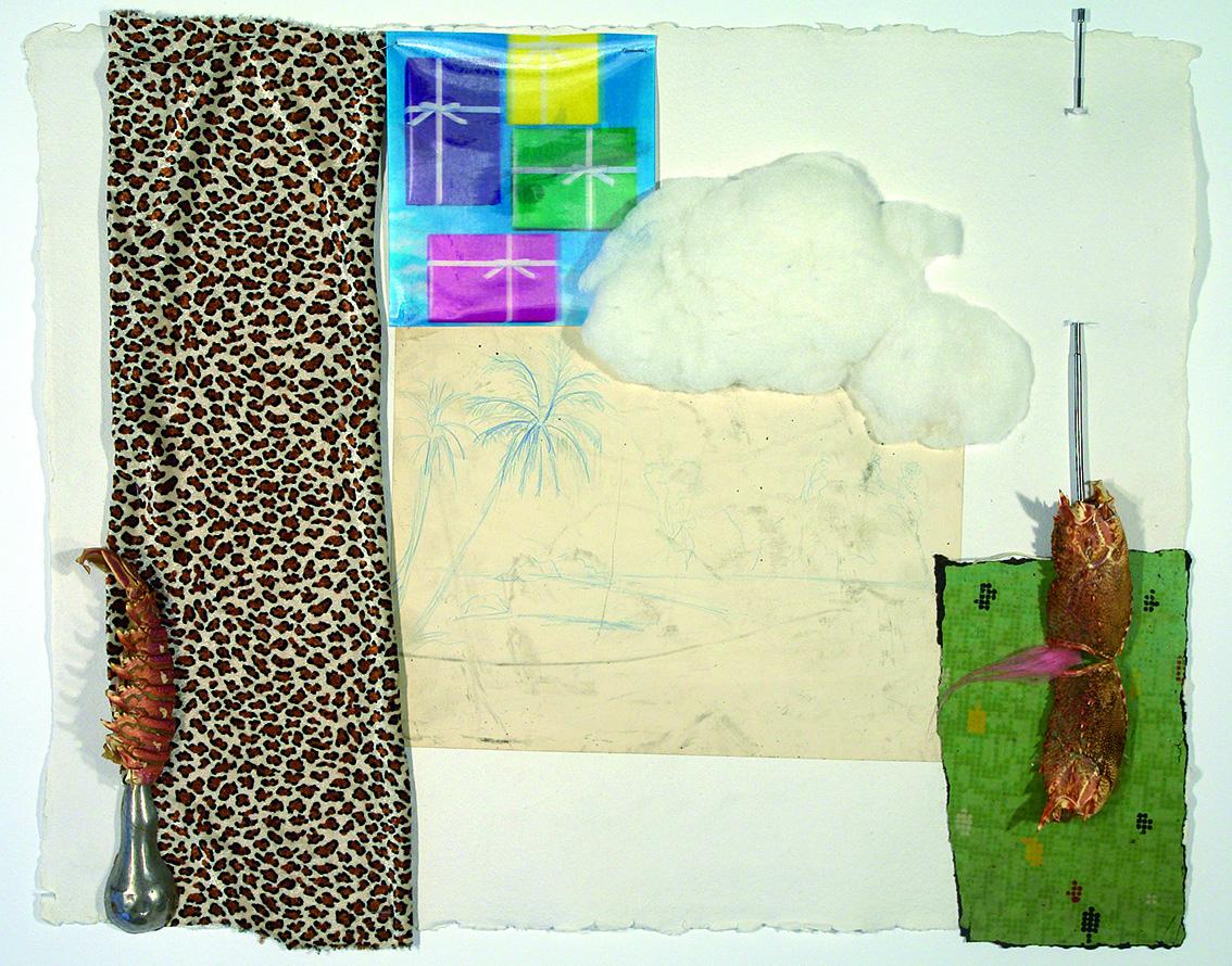 Paraíso de hoy en día, de Carlos Pazos, en la galería Piramidón,