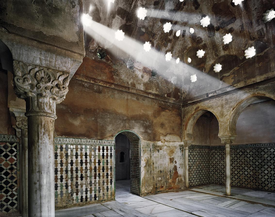 Sala Central del baño de Comares.