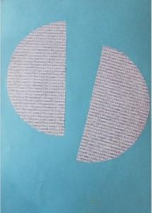 Poesia visual Moonlight , por Nel Amaro, 1990.