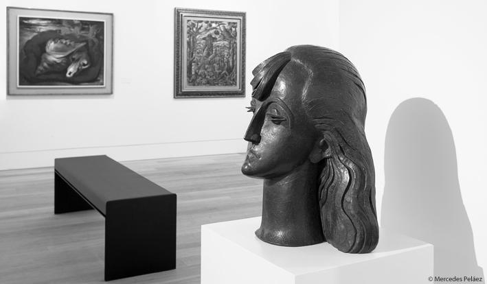 Joven española, 1921. Pablo Gargallo. Ampliación del Museo de Bellas Artes de Asturias / © Mercedes Peláez.