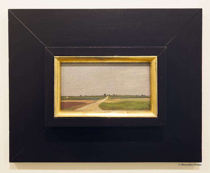 Paisaje, 1947. Luis Fernández. Ampliación del museo de Bellas Artes de Asturias / © Mercedes Peláez.