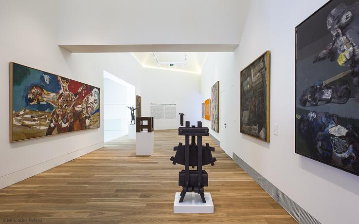 Sala dedicada a la renovación y últimas manifestaciones del arte. Ampliación del Museo de Bellas Artes de Asturias / © Mercedes Peláez.