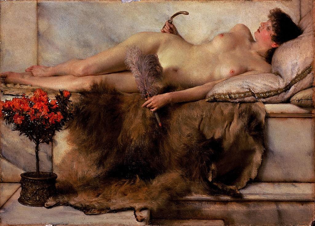 Tepidarium, por Lawrence Alma-Tadema, 1881.