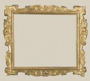 Marco Sansovino con el dorado original muy bien conservado, h. 1580, 136 x 159 cm, colección privada, Marco Sansovino tallado y parcialmente bañado en oro, h. 1560-80, 75 x 100 cm, colección privada © photo The National Gallery, London.