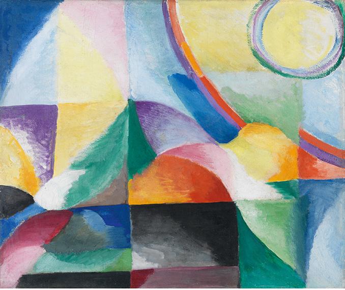 Constrastes-simultáneos-1913-por-Sonia-Delaunay-Terk.