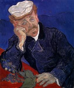 Retrato del doctor Gachet, por Vincent van Gogh, Auvers-sur-Oise, junio 1890, óleo sobre lienzo, 68 x 57 cm, París, Museo de Orsay.