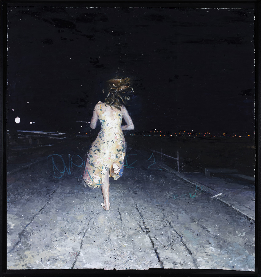 El camino, de José Carlos Naranjo, ganador del Premio de Pintura de la XXVIII edición, 2013.