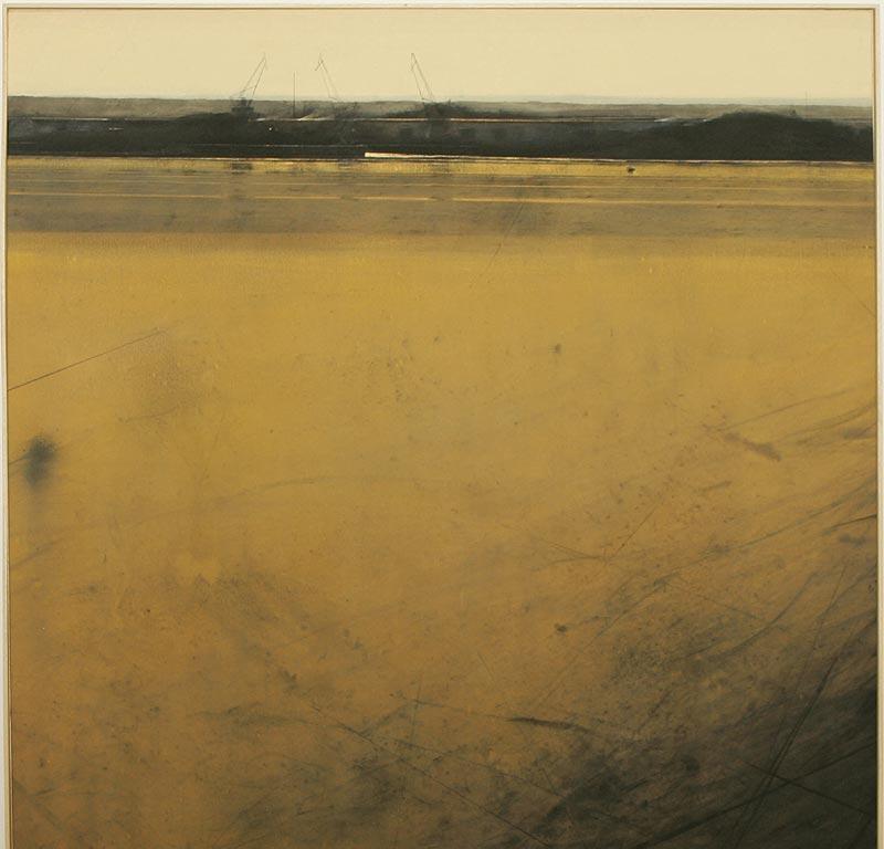 Industrial Landscape, de Hugo Fontela, ganador del premio de pintura en la edición de 2005.