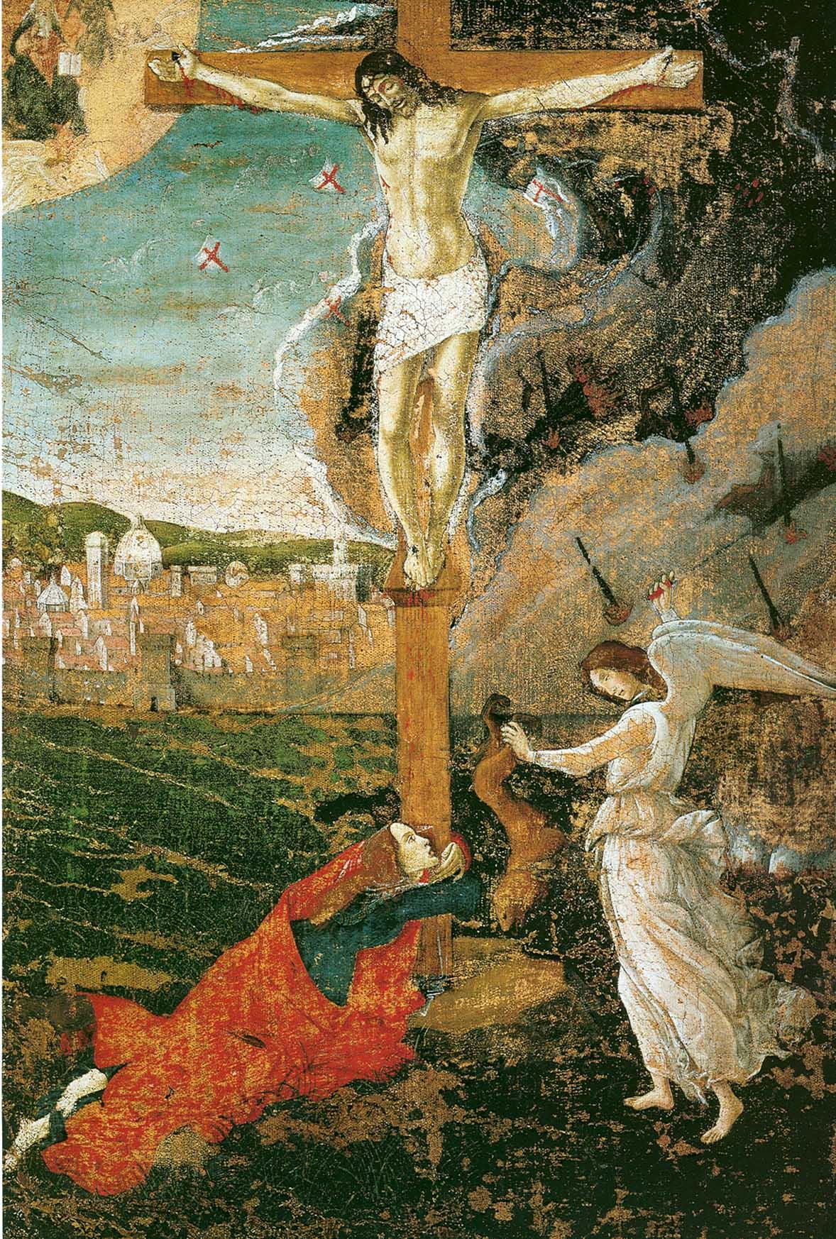 Crucifixión mística.